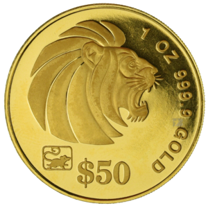 singapore-gold-lion-coin-1oz-1996-obverse